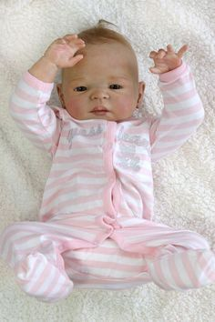 silicone+baby+dolls | Isabelle Babies Reborn Victoria Baby Doll Girl Silicone Like Full Body