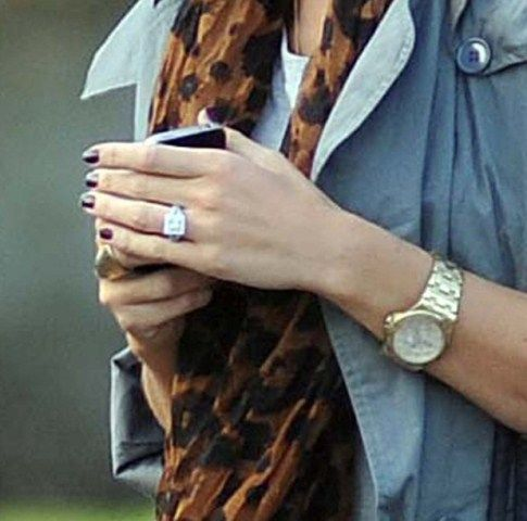 Holly Valance Engagement Ring