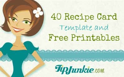 10 Best images about Recipe Cards – Free Recipe Card Templates for Word