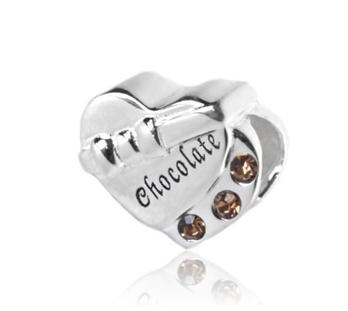 [Sponsored]Treasure Chest Solid Silver Charm, will fit Pandora, Biagi, Chamilia and Troll Bracelets