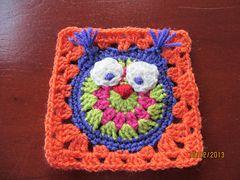 Ravelry: It's a Hoot pattern by Amanda Wheeldon