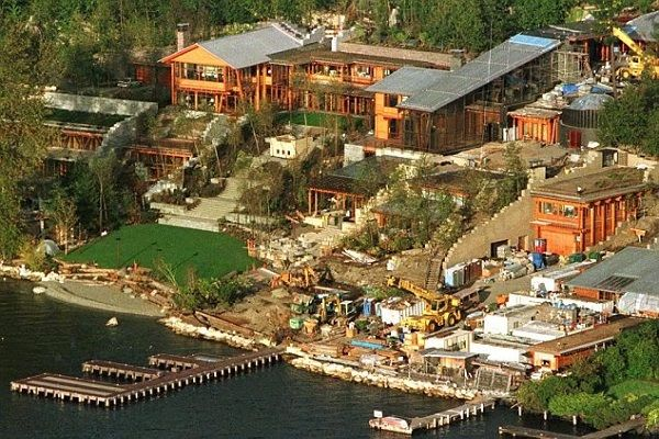 Larry Ellison Japanese Estate Google Search Bill Gates S House Mansions Expensive Houses
