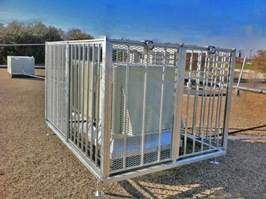 A C Cage Guard Commercial Air Conditioning Units Post Guard