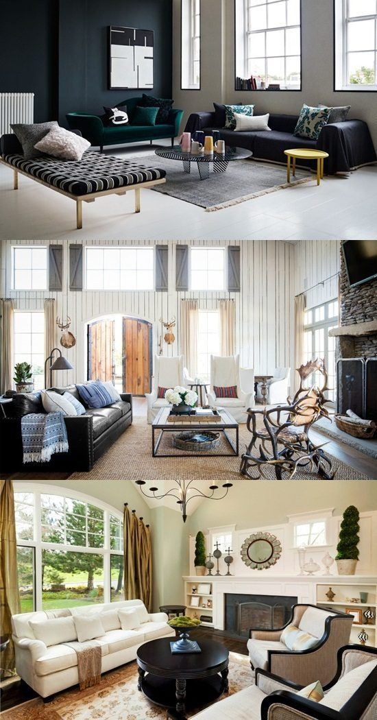 Useful Living Room Decoration Tips Http Interiordesign4 Com Useful Living Room Decoration Tips Living Room Windows House Design Living Room Decor