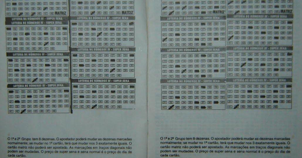 Paginas De 6 A 10 Digitalizadas Jogos Loteria Numeros Da Mega
