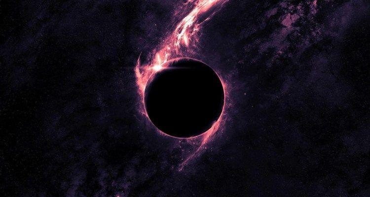 Trou Noir Supermassif Trou Noir Espace Gravite Masse