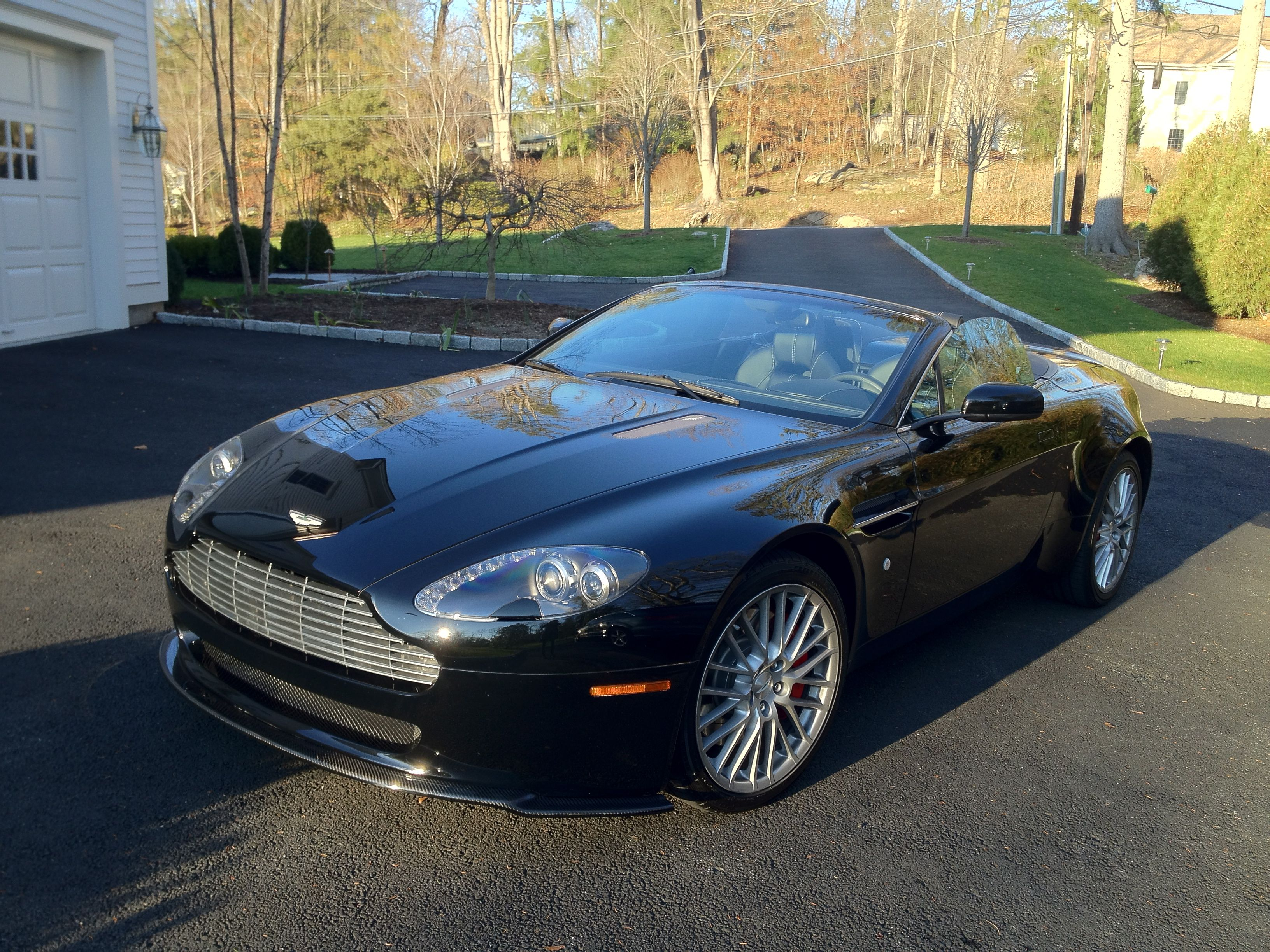 "Bianca"" my Aston Martin Vantage Products I Love"