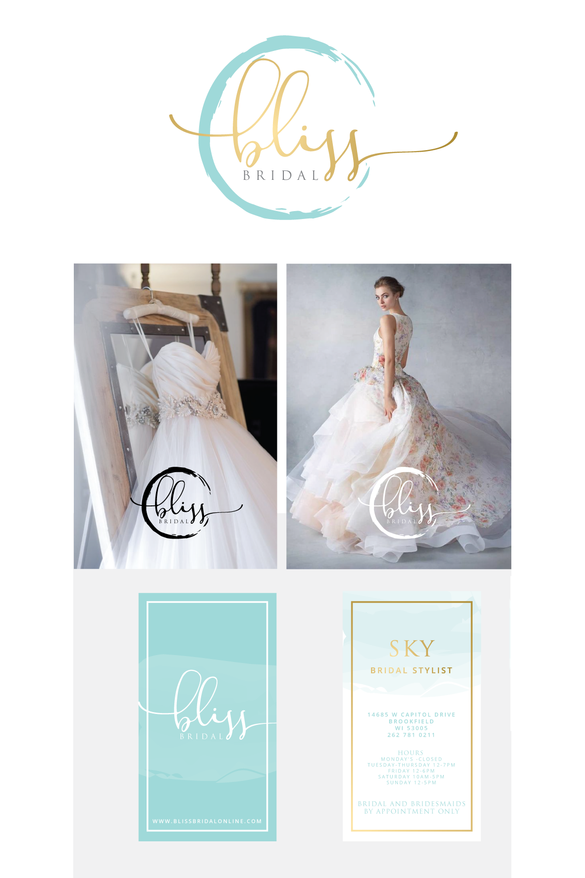 Designs Create A Brand For High End Designer Bridal Boutique In The Midwest Business Logosbusiness Card