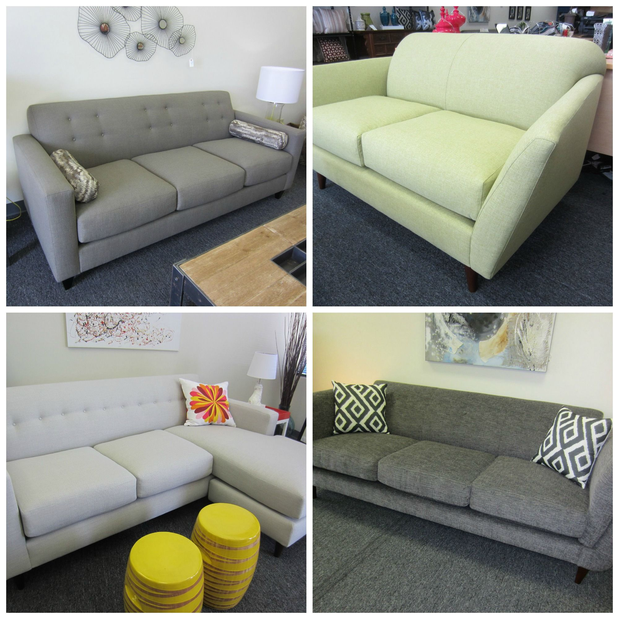 Four New Sofas Made In The USA With Certified Sustainable Materials By Huntington  Industries: Harper