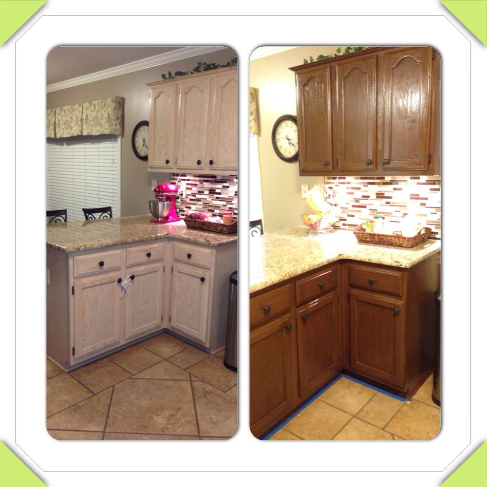 Good Colors For Kitchen Cabinets: Rustoleum Cabinet Transformations. Toasted Almond With