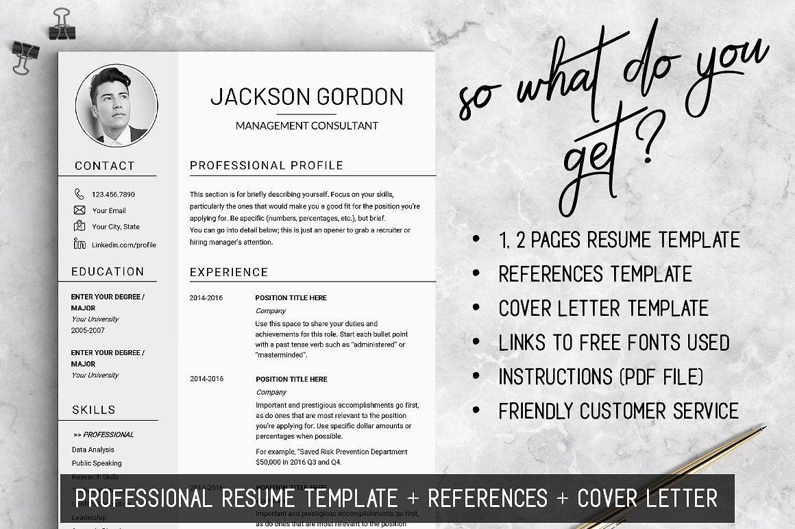 Professional Resume Template Jg Resume Template Resume Template Professional Cover Letter Template