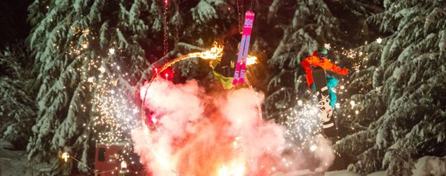#Whistler Blackcomb Fire and Ice Show starts December 15, 2013