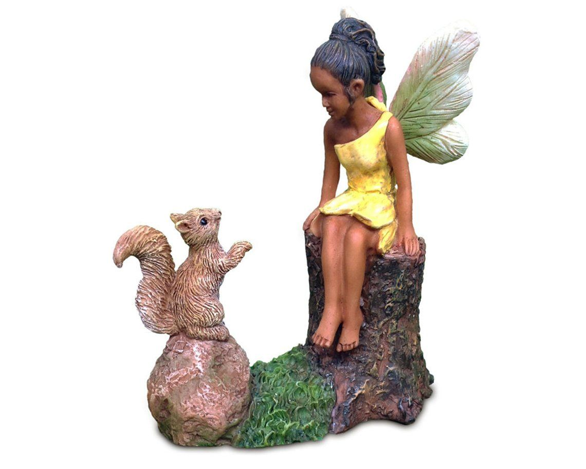 African American Fairies For Fairy Gardens