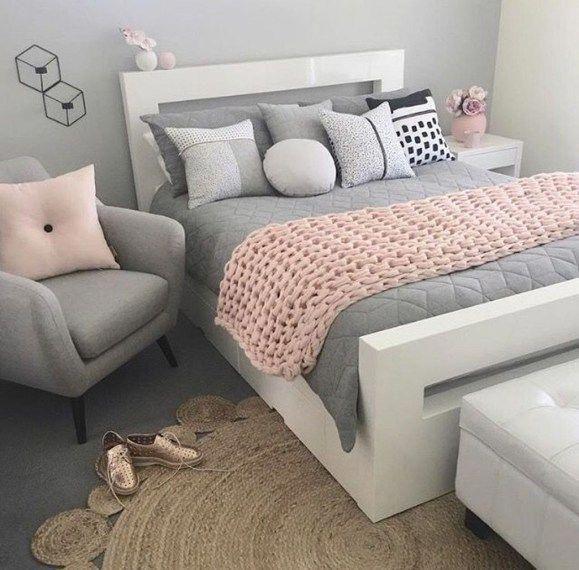 Photo of Schöne 52 faszinierende Schlafzimmerdekorationsideen für jugendlich Mädchen. M …
