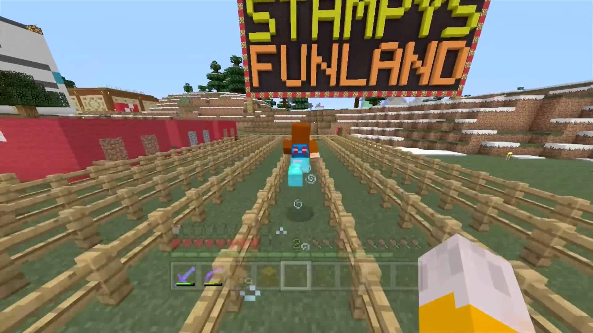 Minecraft Xbox Doghouse Race Stamlonghead Minecraft