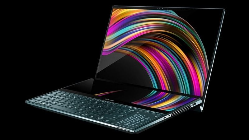 Asus Launched Zenbook Duo Ux481 And Zenbook Pro Duo Ux581 Dual Screen Laptops In India New Laptops Product Launch Laptop