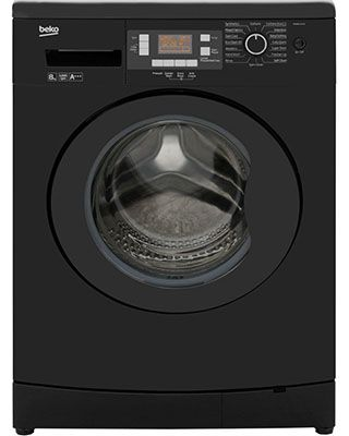 Beko WMB81243LB washing machine This brand new free standing washing machine comes with 1 year parts and labour warranty and is finished in stylish black. Features a good spin speed, large drum and digital controls. Extended warranty available. http://bellsdomestics.co.uk/washing-machine-?pro_id=1114-Beko-WMB81243LB