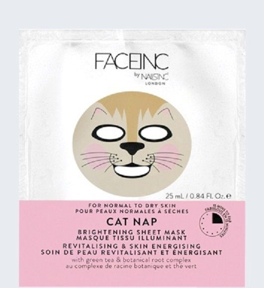 2 in 1 Fusion Face Sheet Mask Roses Are Red Violets Are Blue - 1 Count by The Creme Shop (pack of 2) Eminence Pink Grapefruit Clarifying Masque