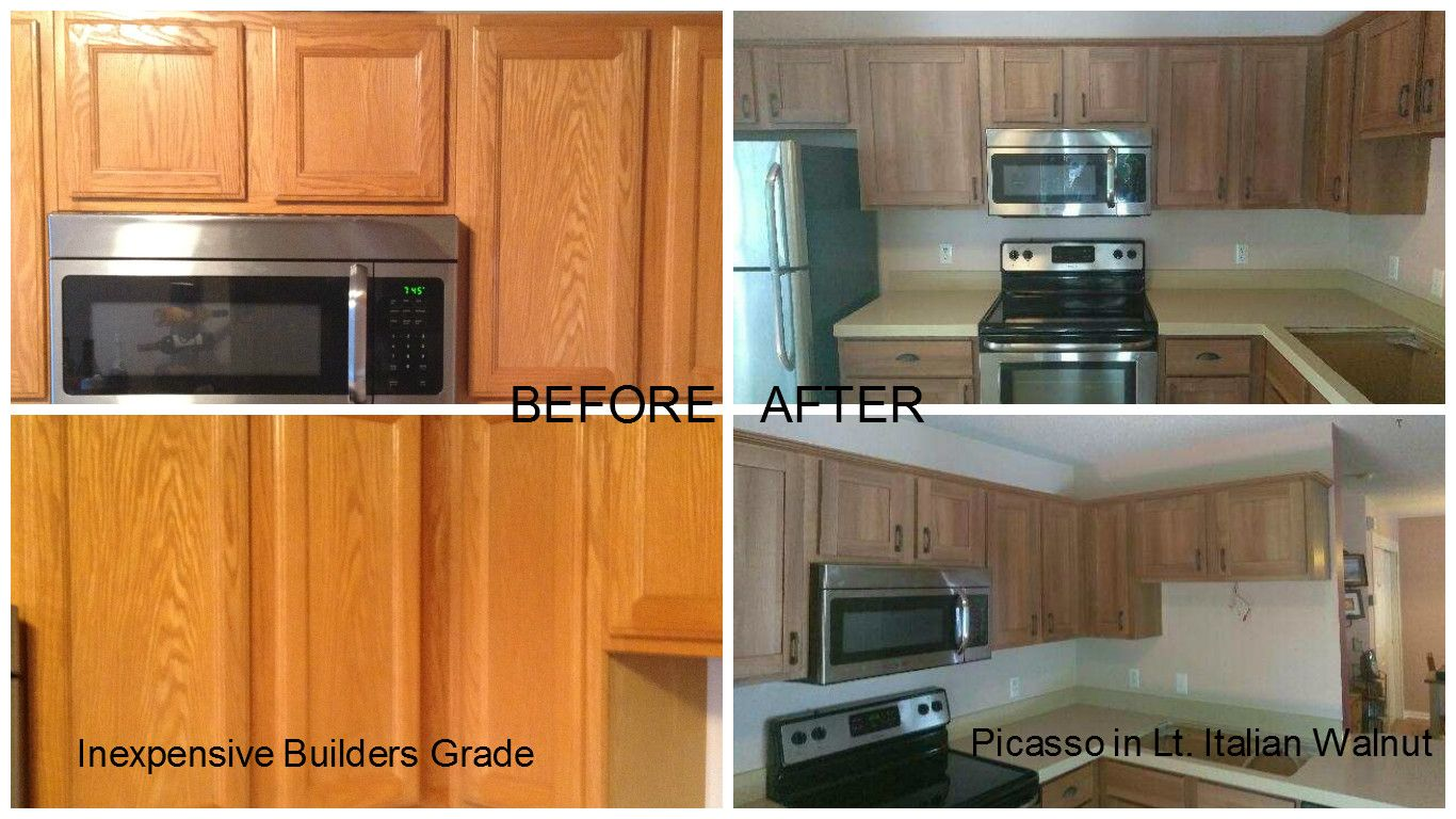 Trend Transformations Does Refacing This Burnsville Mn Homeowner Is Loving Her New Kitchen With Cheap Countertops Engineered Stone Countertops Countertops