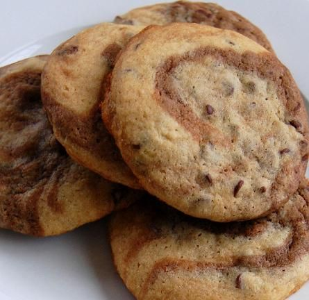 Culinary Concoctions by Peabody – My favorite Marbled Chocolate Chip Cookie Recipe