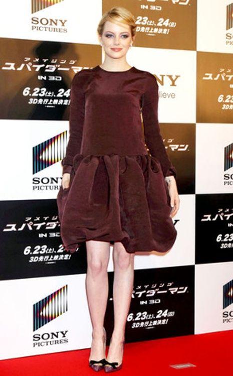 Emma Stone Instyle Fashion Celebrity Style