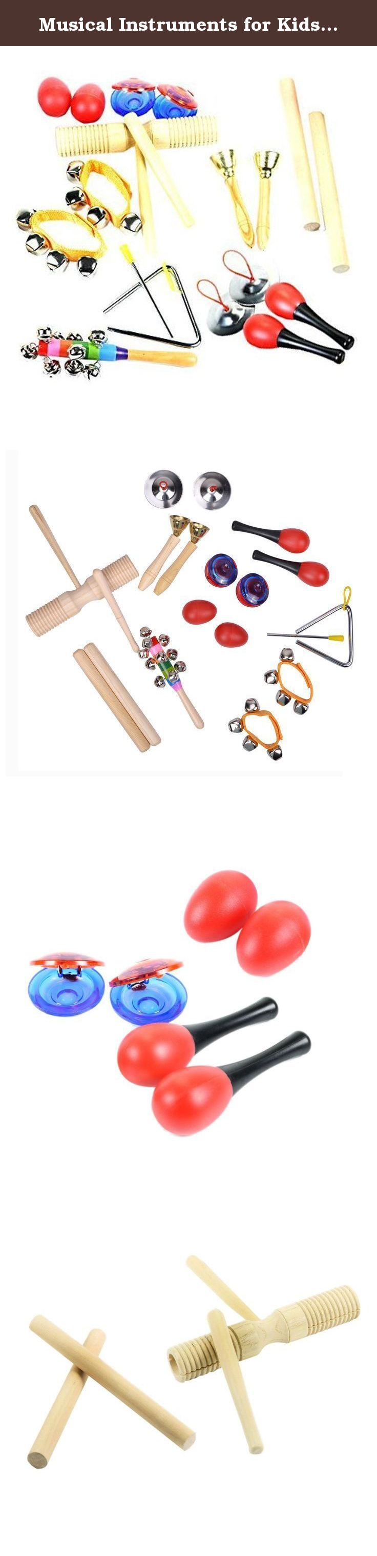 Musical Instruments for Kids TSLIKANDO Percussion Rhythm Maracas
