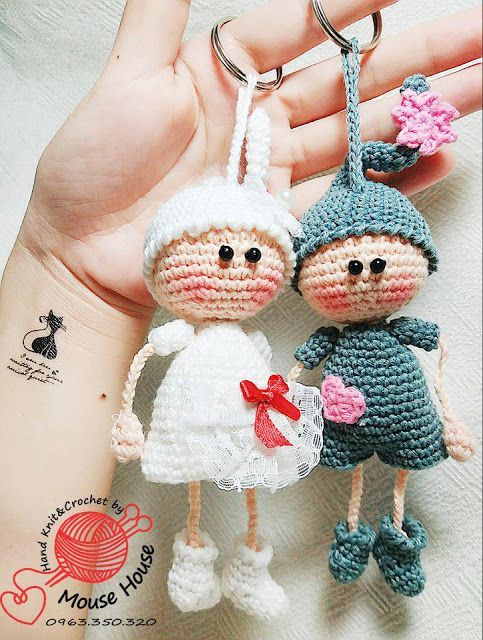 LUCKYDOLL by MouseHouse Handmade #crochettoysanddolls