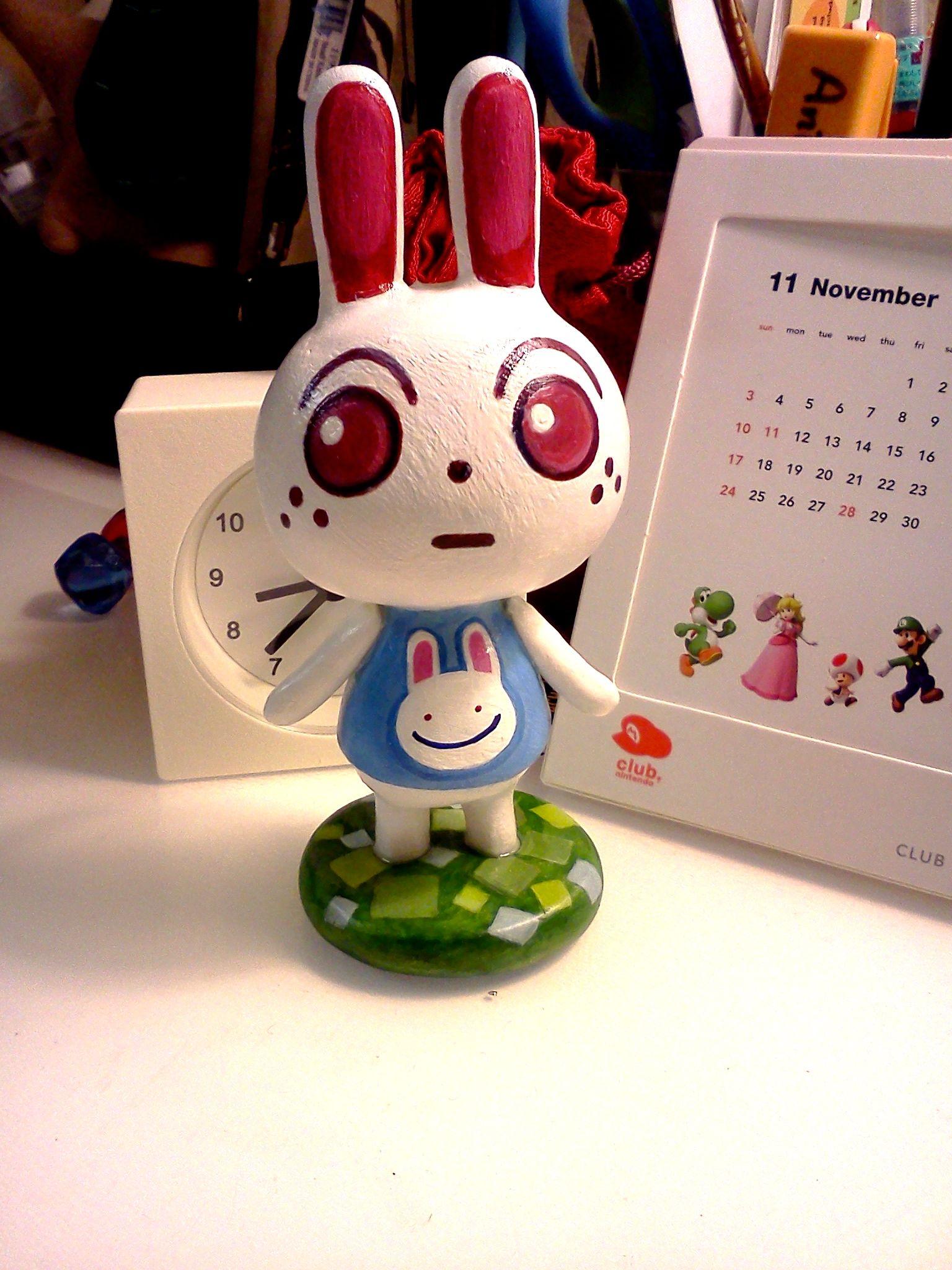 Custom Handmade Ruby Figurine Animal Crossing Made By Matcha