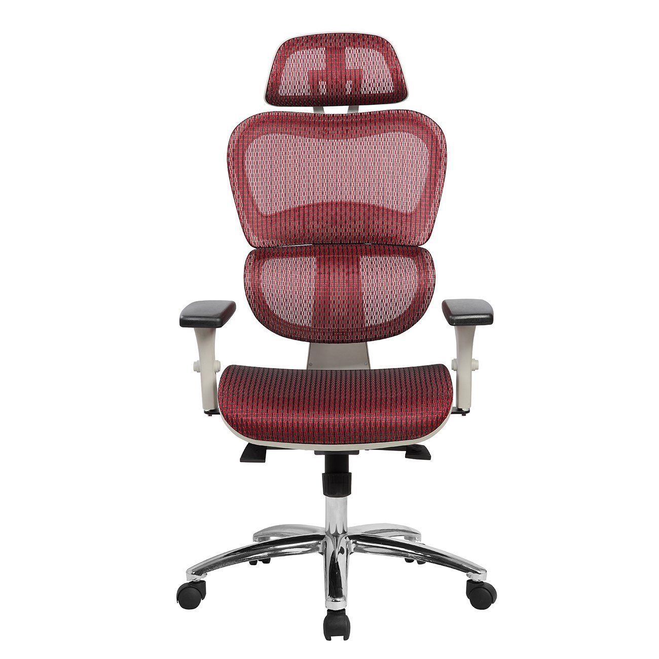 Techni Mobili Deluxe High Back Mesh Office Executive Chair With