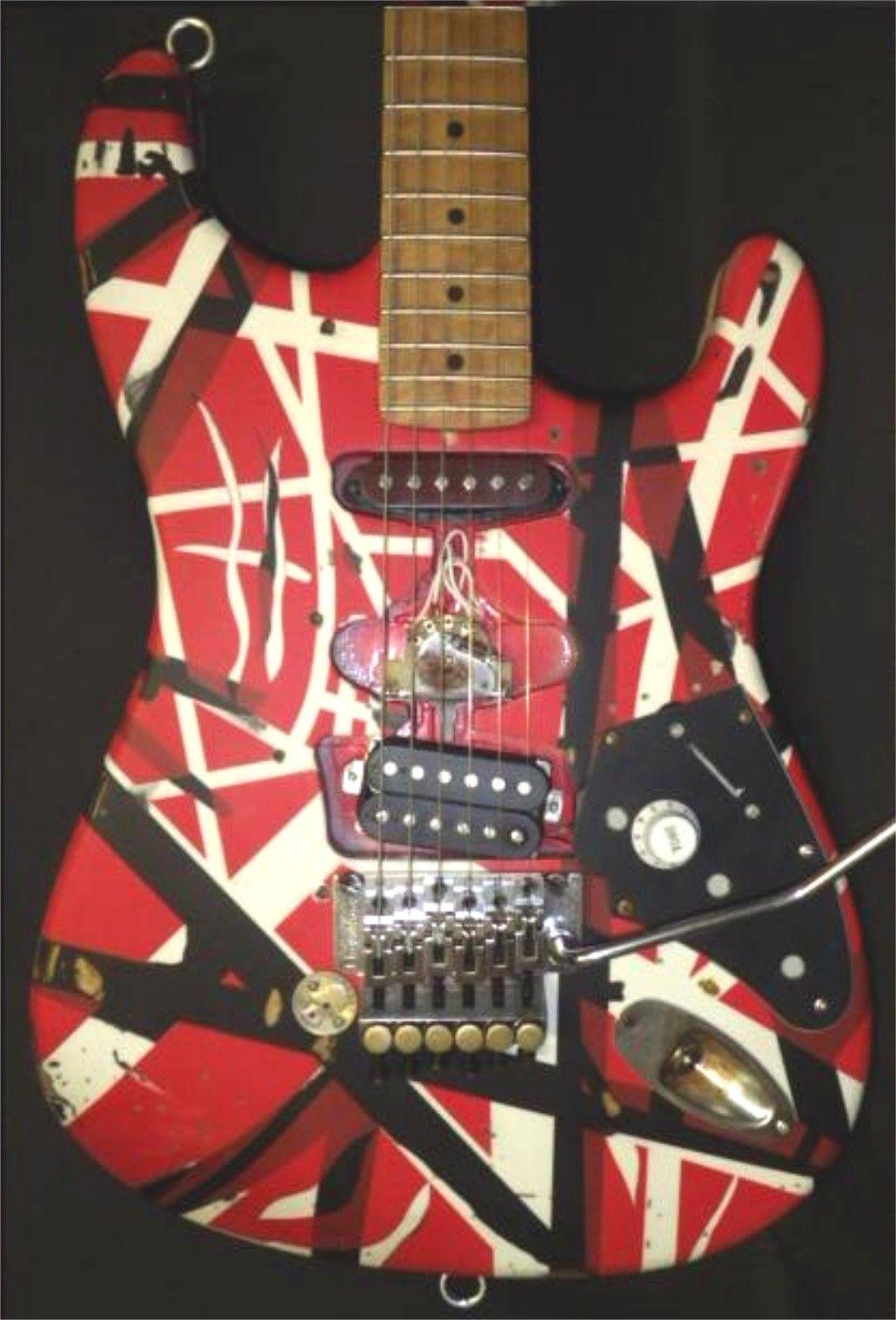 My New Meanstreet Evh Frankenstein Guitar Another Masterpiece By Mitchel Floyd Awesome Guitar Eddie Van Halen Classic Guitar