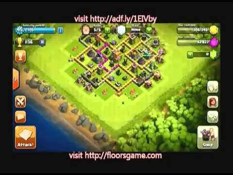 Clash Of Clans Cheat Gems Gold Clash Of Clans Hack Gems For Android