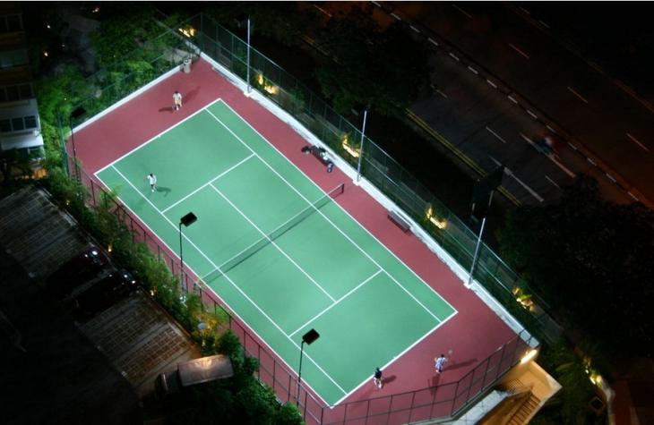 Outdoor Badminton Court Lighting In 2019 Led