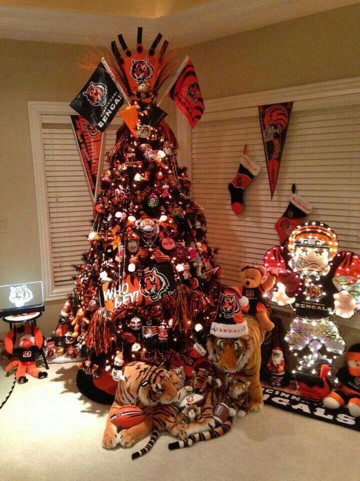Who Dey Extreme Bengals Christmas Tree I Will Have A