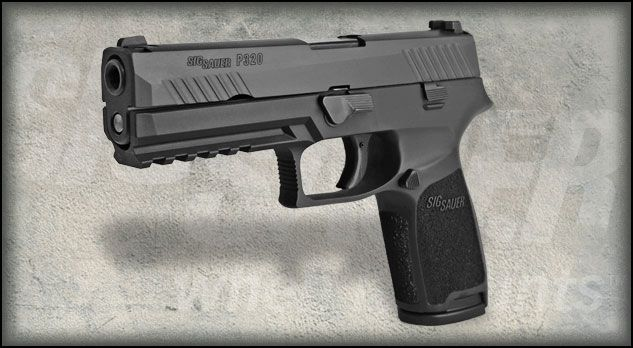 Sig P320 Full-Size Nitron MSRP $713. Worth it? We'll see. | Blued ...