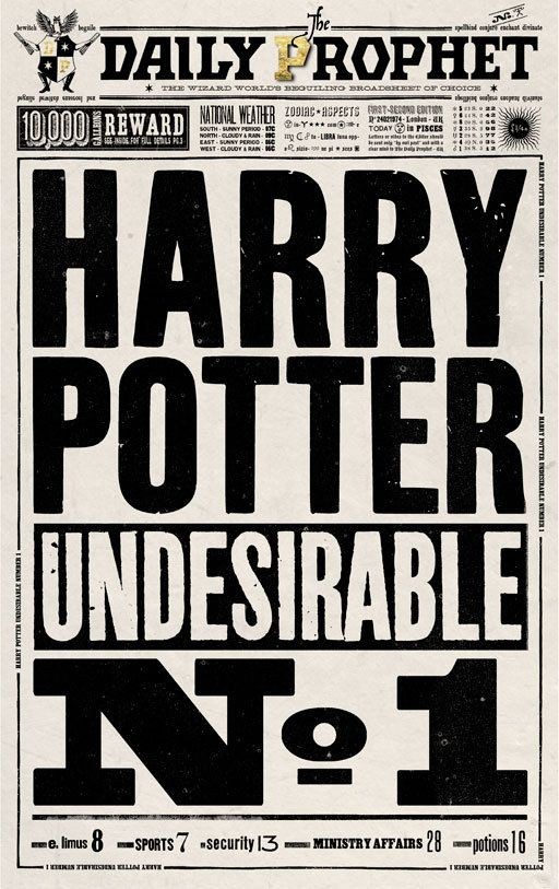 Harry Potter Book Font ~ Harry potter s graphic designers launch collection of art