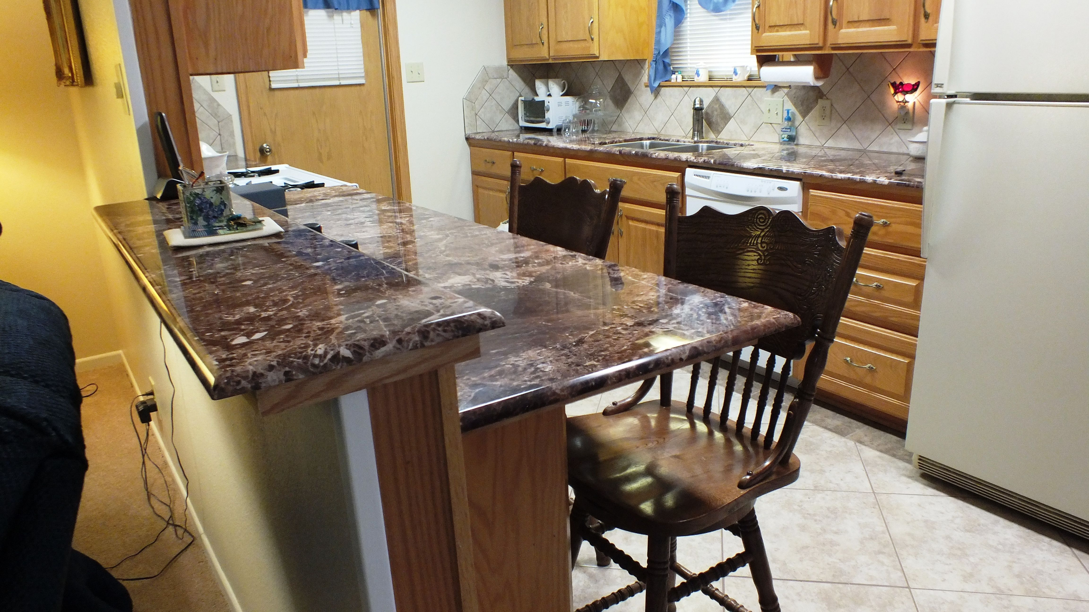Paradiso Granite Countertops Breccia Paradiso Countertops And Bar Tops With A Demi