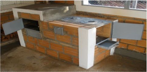 Estufas ecologicas ahorradoras de le a colombia 2015 buscar con google cocinas pinterest - Cocina con horno de lena ...