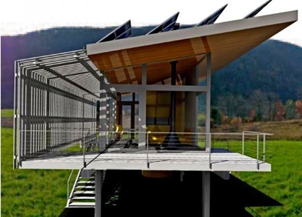 Eco Friendly And Prefabricated Houses Architecture