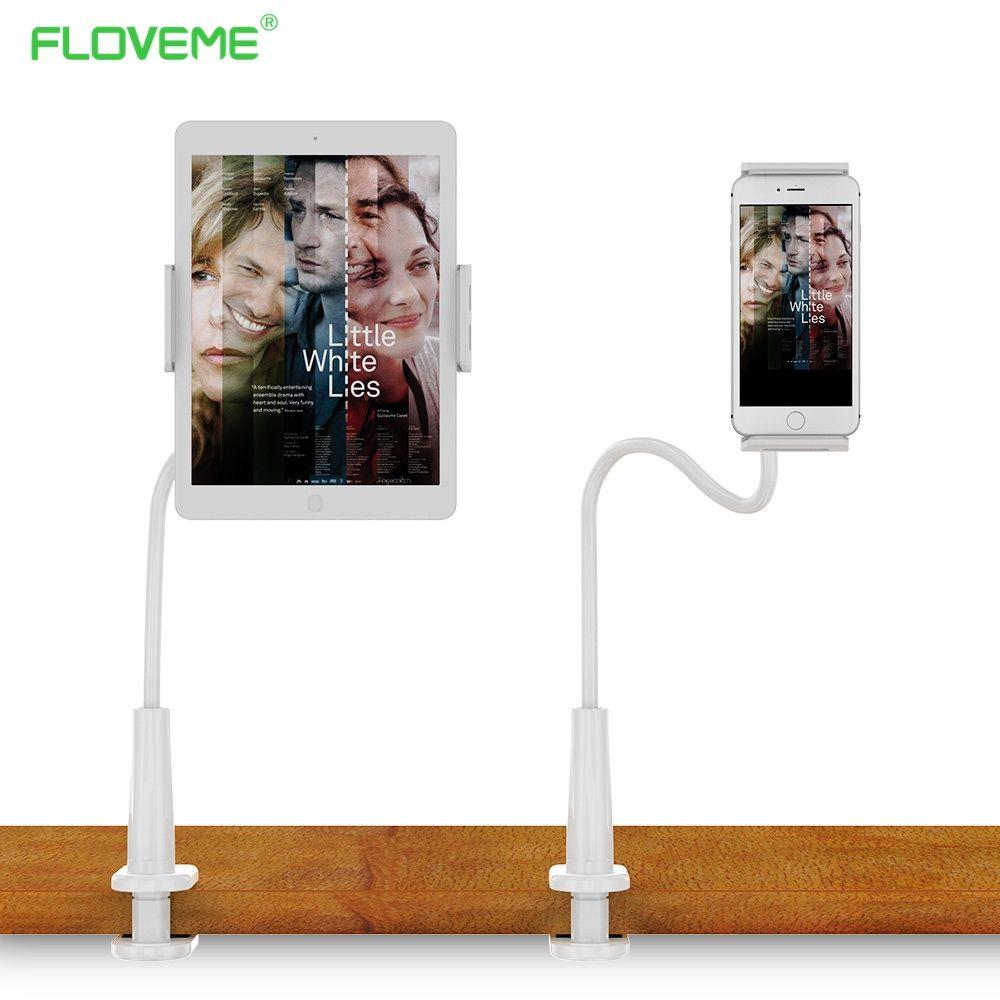 floveme gens paresseux lit de bureau tablet montage pour ipad mini 1 2 3 4 5 6 air pro pad titulaire stand tablet stands accessoires