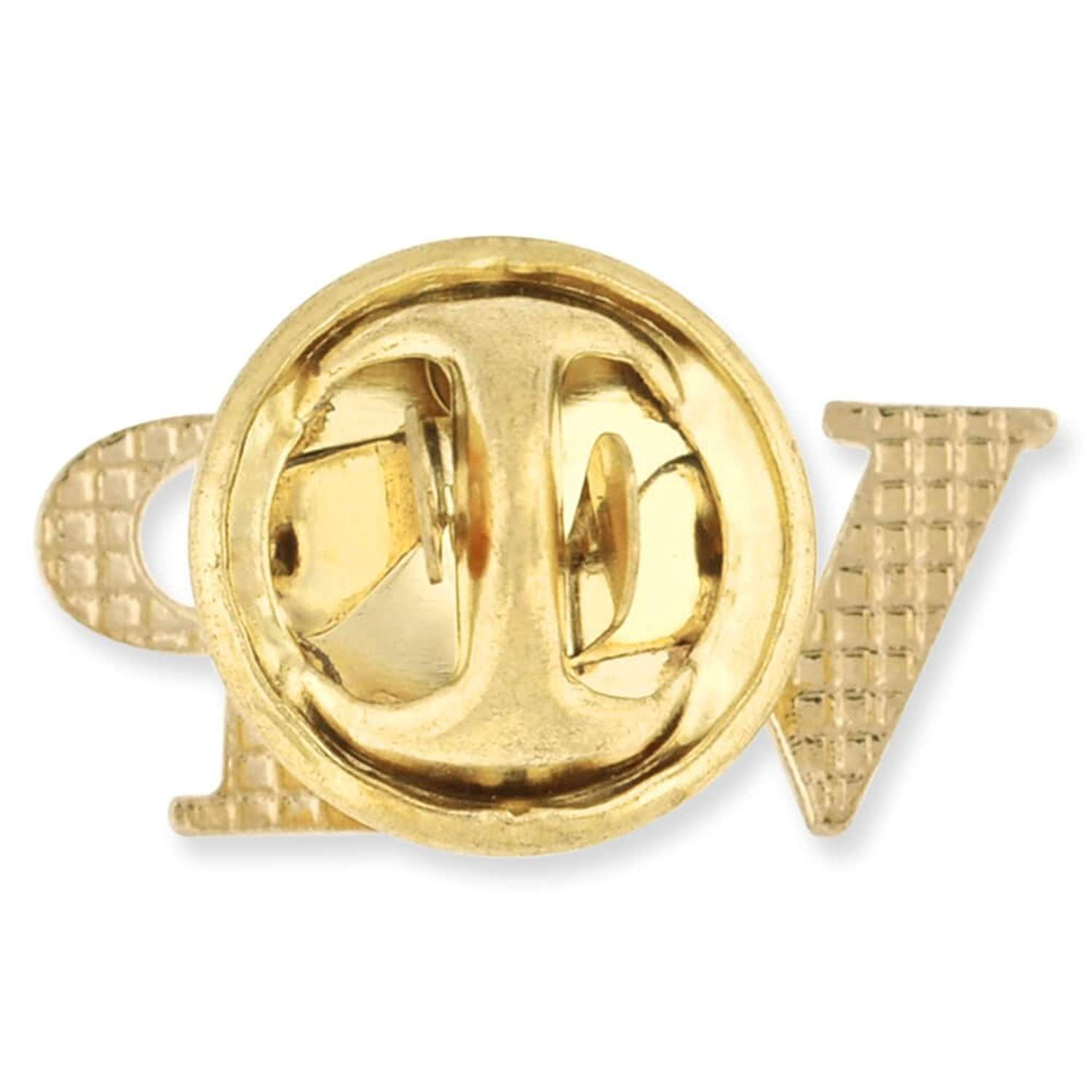 Pinmart S Gold Plated Vip Very Important Person Lapel Pin