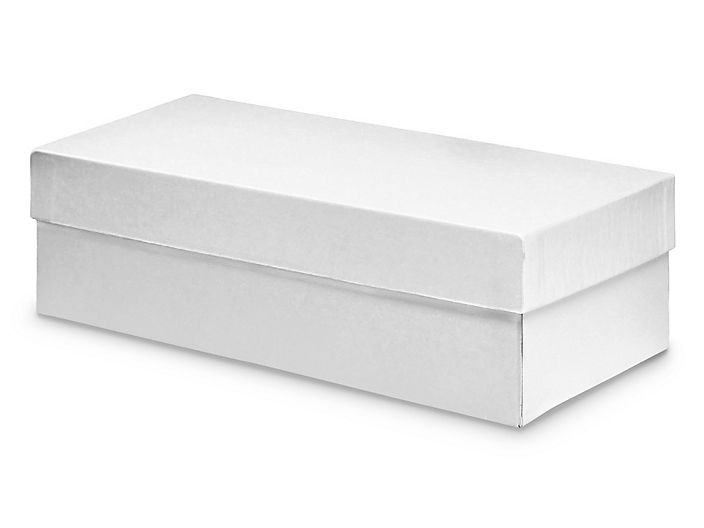 Deluxe Gift Boxes 10 X 5 X 3 White S 13211 Uline Gift Box 10 Things Gifts