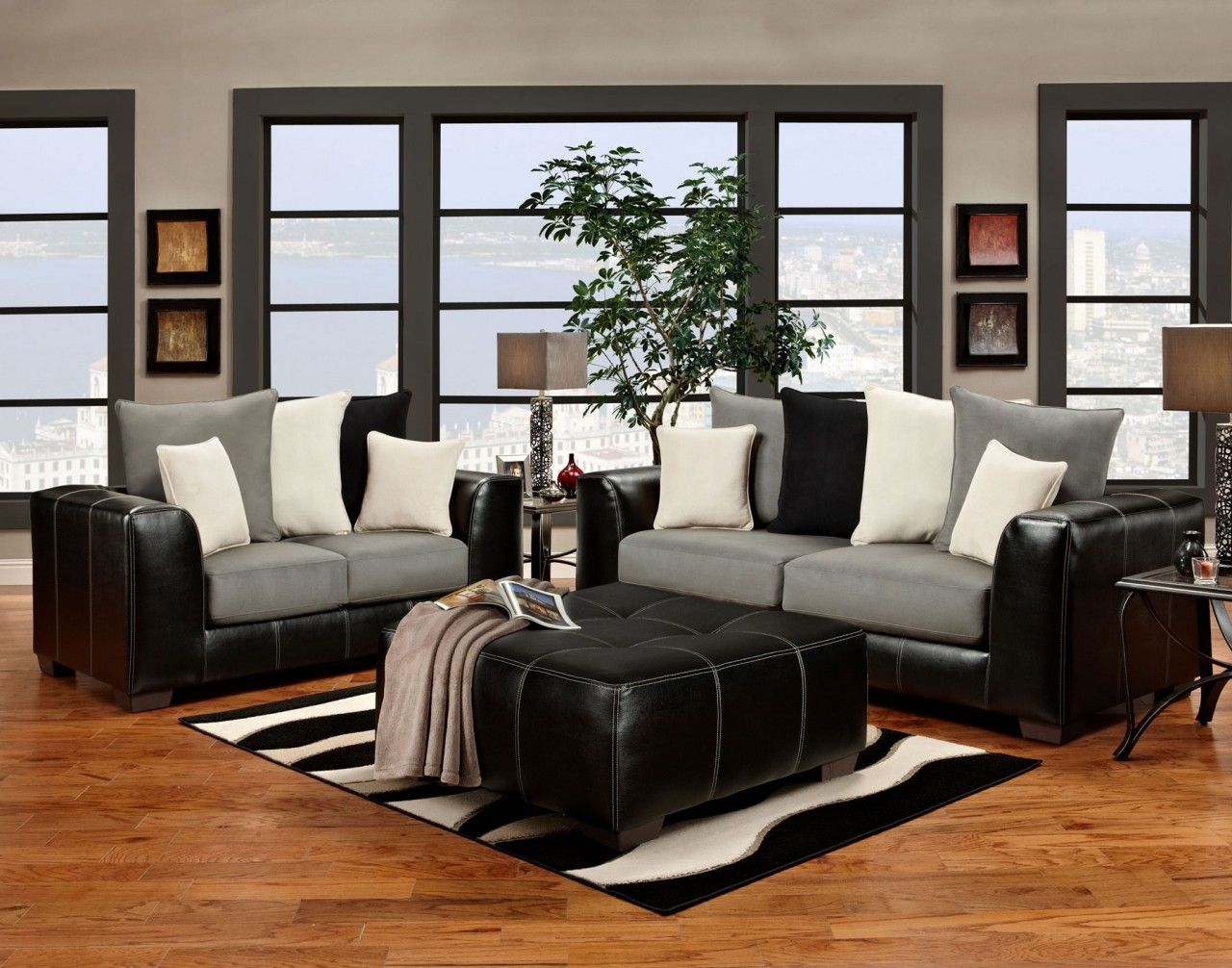 Best Black Grey Sofa I Love Carl S Furniture City Hampton 400 x 300