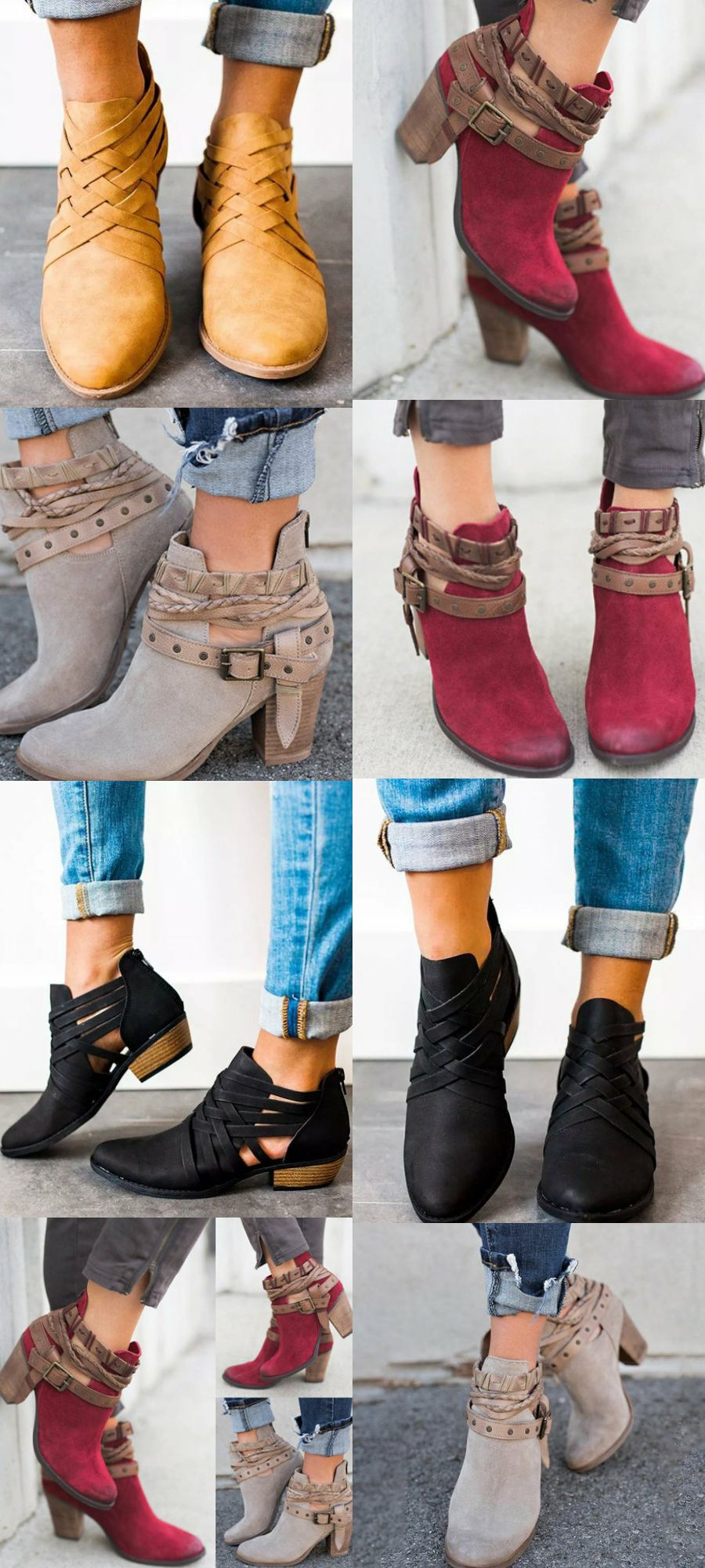 0b702ac8988 Finding new shoes for fall  Top sale shoes for you  fall boots  women shoes   boots casual shoes  fall fashion  2018 fall back to school street ...