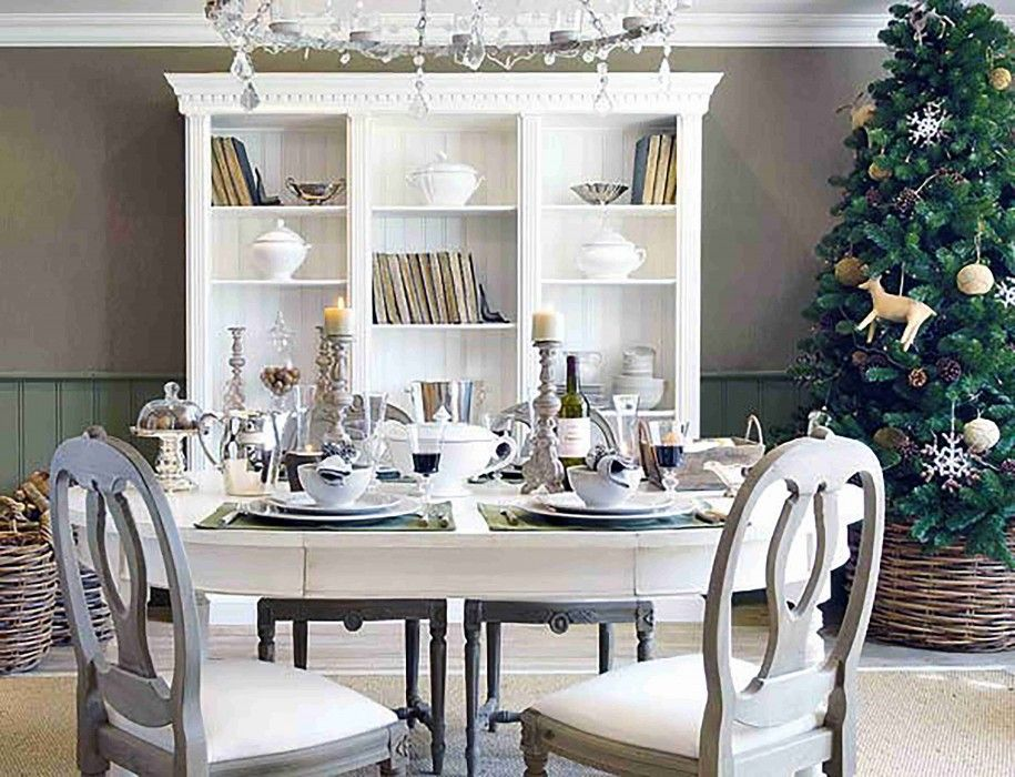 Dining Rooms Shabby Chic Dining Room Tables With New Table Extraordinary Dining Room Table Setting Ideas Inspiration Design