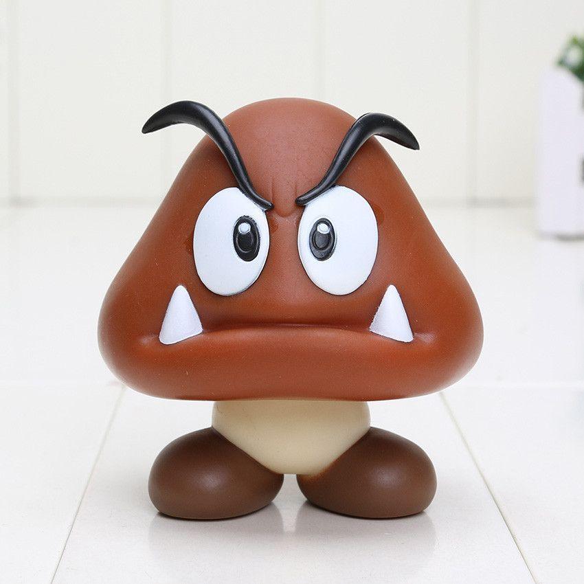 8 15cm Super Mario Bros Bowser Koopa Yoshi Mario Luigi Mushroom