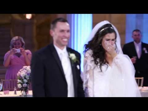 Devastated Bride Was Convinced The First Dance Ruined Then A Special Guest Appeared