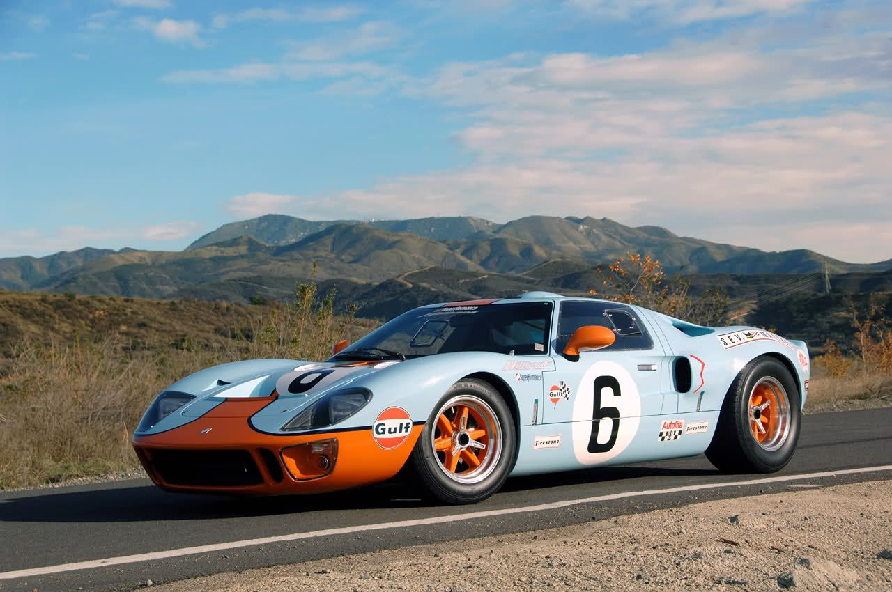 Ford Gt 40 Gulp Ford Gt40 Gt40 Classic Racing Cars