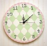 Wall Clock for a Girls Room
