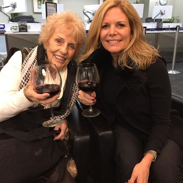 Kathy Colace & Her Mom
