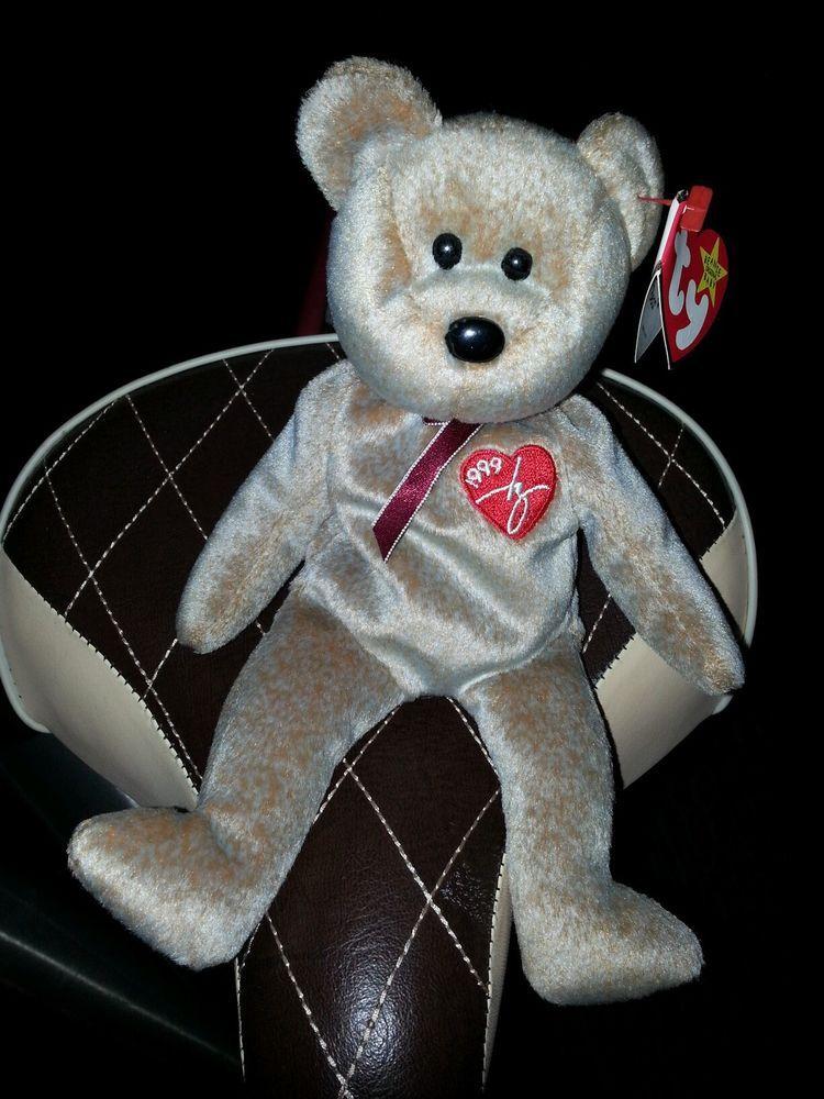 TY - Beanie Baby Bear Original 1999 Signature Bear - Retired Ebay ID s  debpark94 attic   tigerllc24 abcdad3ebe6